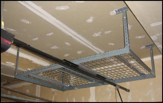 Overhead Garage Storage Racks | Ceiling & Hanging Storage by ...